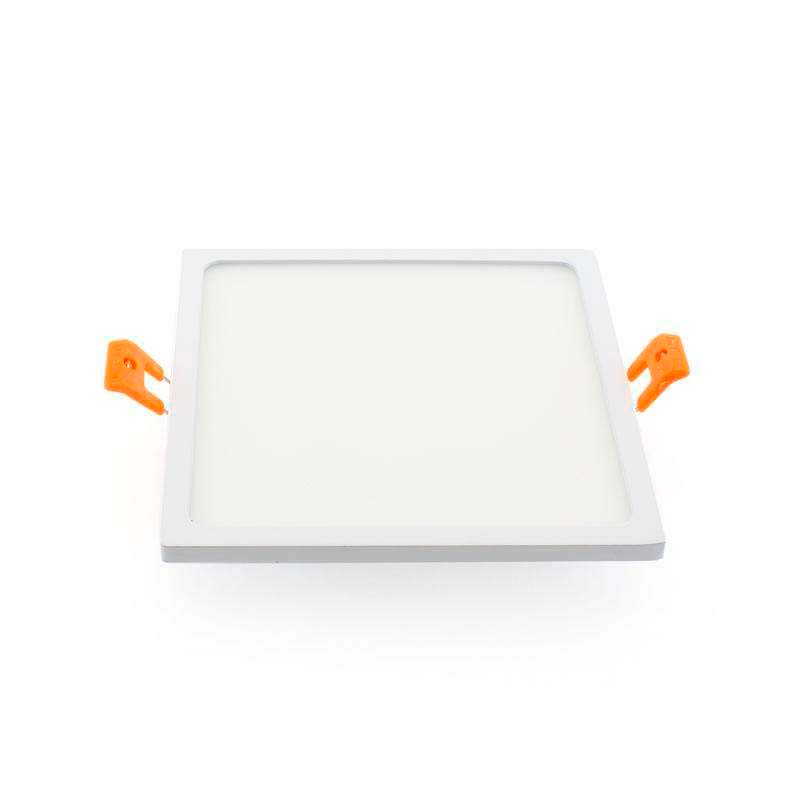 Downlight Led SLIM KVADRATA 16W, Blanco frío